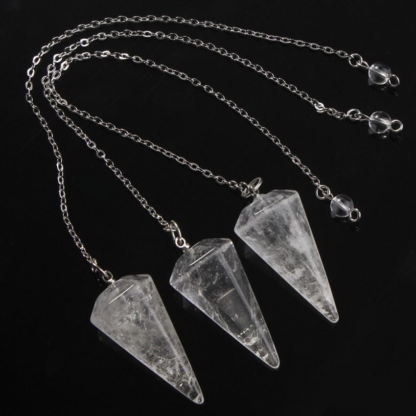 pendule cristal de roche
