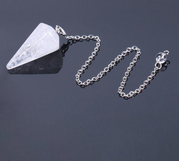 pendule quartz blanc