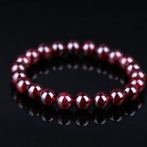 bracelet grenat