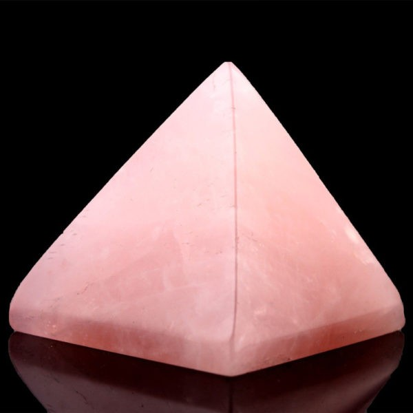 pyramide quartz rose