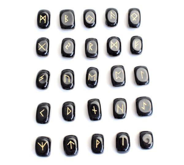 runes agate noire