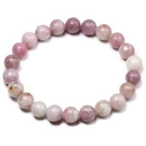 bracelet pierre lepidolite
